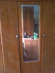 Шкаф для вещей(натуральное дерево)