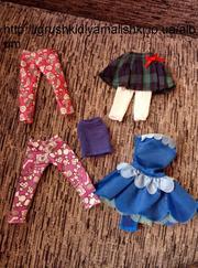 набор оригинальной одежды для кукол
