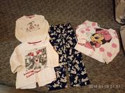 набор одежды для дома примерно на 5-7 лет