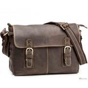 Мужская кожаная сумка TIDING BAG G8850