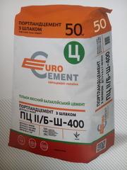 Цемент М400 50кг Евроцемент