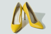 Лодочки желтые