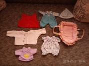 набор разной одежды для пупсов. на кукол 36-40 см