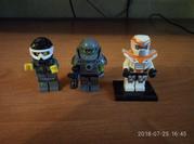Фигурки lego лот
