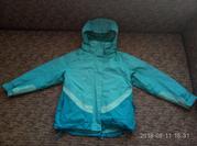 крутая курточка mountain life на 7-8 лет 2 в 1.