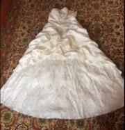 Продам б/у свадебное платье своё не венчанное Харьков