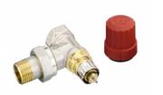 Клапан термостат. радиаторный DANFOSS RA-N 1/2 угловой,  с преднастройк