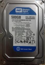Жесткий диск WDC WD5000AAKS-00V1A0