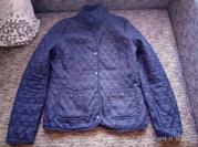 стеганая легкая курточка-пиджак denim&co размер 12