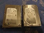 Продам не рабочие HDD SeaGate 500 Gb