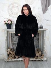 Норковая шикарная шуба махаон 44 46 размеры