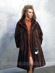 Роскошная норковая шуба классика 48 50 размер распродажа