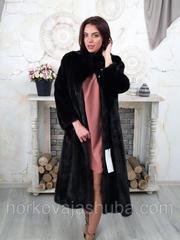 роскошная норковая шуба размер 52 54 56 распродажа