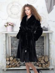 Купить шубу норковую махаон 40 42 размер под пояс распродажа