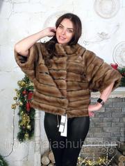 Женская шуба из меха норки размер от 44 до 50