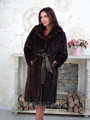 Женская шуба норковая махаон 46 48 размеры