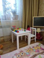 Детский стол и стул в стиле прованс