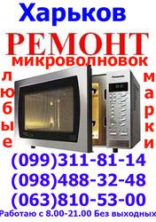 Не дорого, Ремонт микроволновой печи СВЧ печь , любые марки,  Харьков