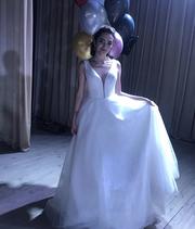 Продам выпускное-свадебное платье