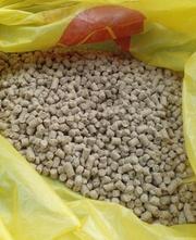 Мучка пшеничная в гранулах. Корм свиньям,  козам,  коровам и птицам