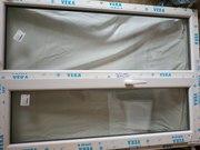 Металлопластиковое качественное  окно VEKA размер155 *110,  новое,  Харьков