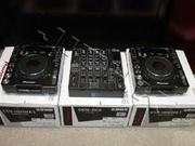 2x PIONEER CDJ-1000MK3 & 1x DJM-800 MIXER DJ PACKAGE!